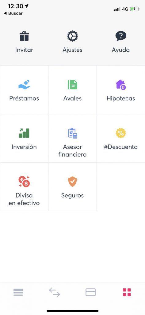 Vista del Marketplace de Bnext